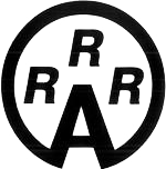 RRRA Logo Black & White Circle