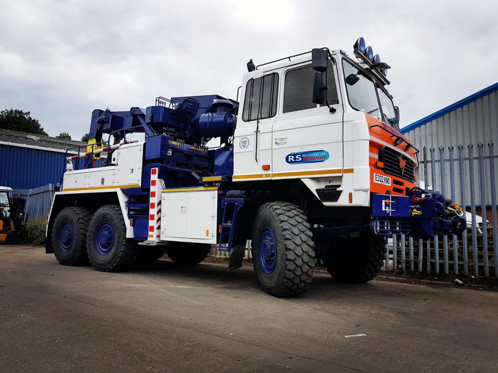 foden 6x6 recovery truck