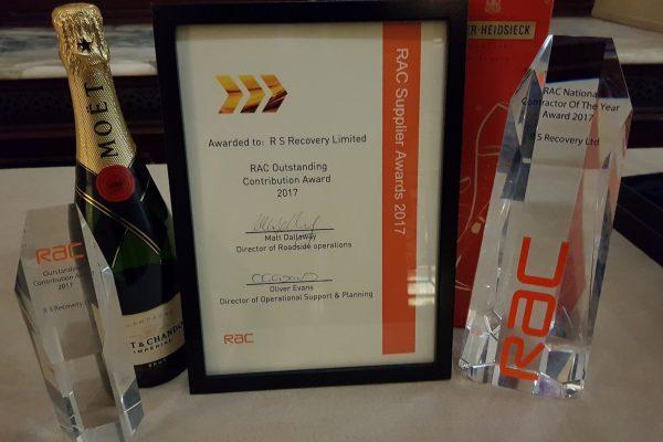 RAC Contractor Award
