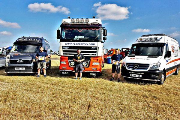 award truckfest trucks recovery