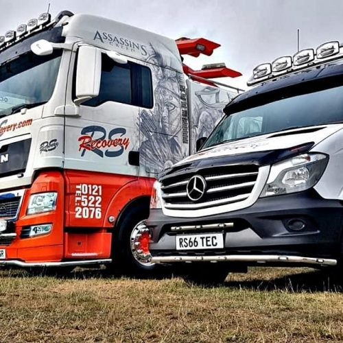 rsrecovery daf mercedes heavy recovery award show truckfest