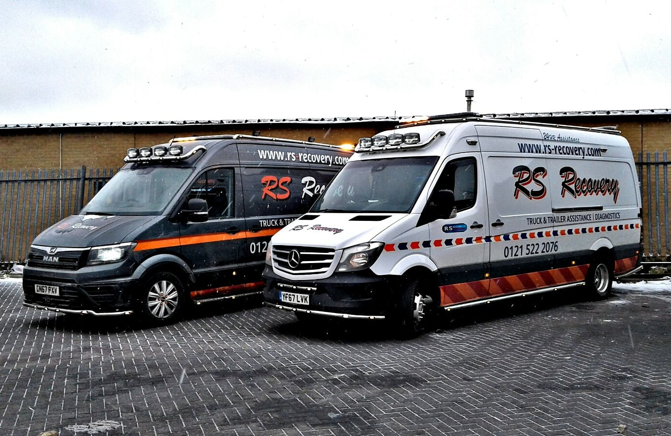 Service vans join the fleet